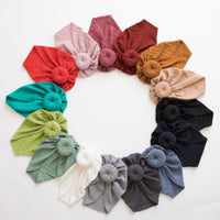 Waffle Turban ROUND KNOT Hats 15 Colors