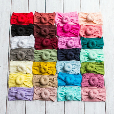 Turban Nylon Headwraps 38 Colors