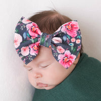 Lulu Bow Nylon Headband Prints 11