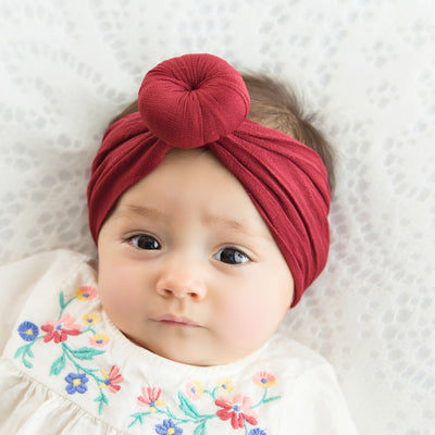 Turban Nylon Headwraps RUBY 40
