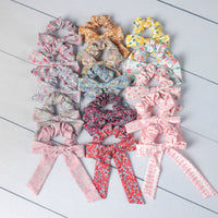 Printed Scrunchies 15 Colors