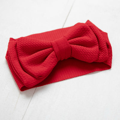 Lolita Big BOW  Headwraps RED 24