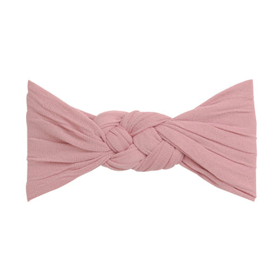 Sailor Knot Nylon Headwrap DUSTY ROSE 13