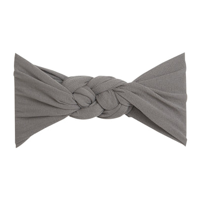 Sailor Knot Nylon Headwrap NEUTRAL GREY 16
