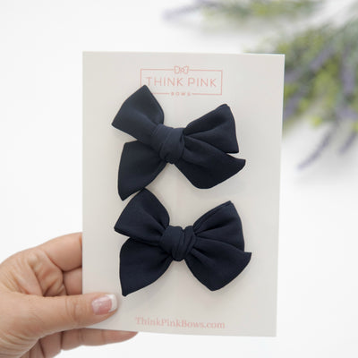 Rylie Bow Small Hair Clips- 32 Styles