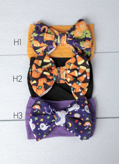 Lola Nylon Headwraps HALLOWEEN- 3 Colors