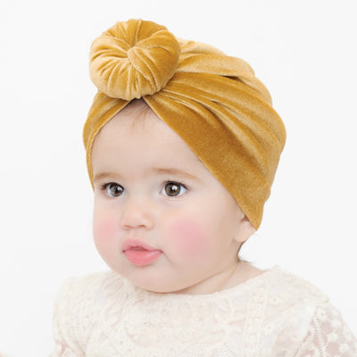 Turban ROUND KNOT VELVET Hats 12 Colors