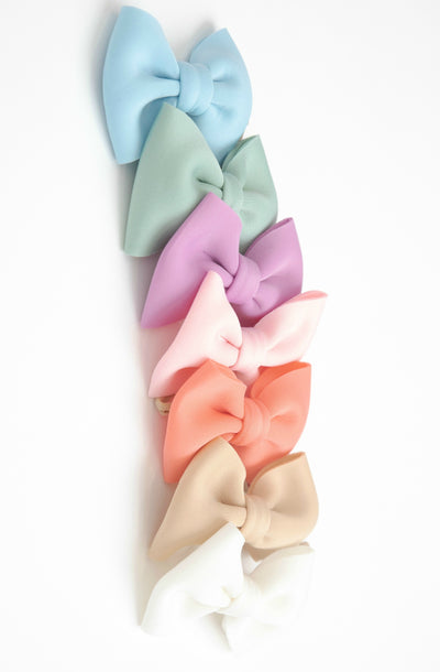 PUFF Bow Hair Clip - 24 Colors