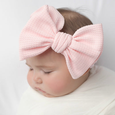 Kira Nylon Headbands  BABY PINK 22