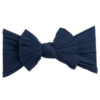 Cable Knit Nylon Headwraps NAVY 25
