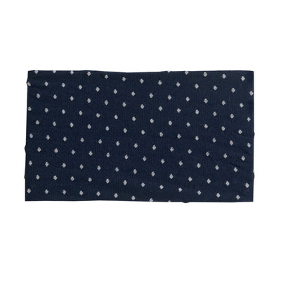 LEIA Turban Nylon Headwraps NAVY 25