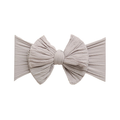 Eva Cable Knit Nylon Headwraps Pearl Grey 10