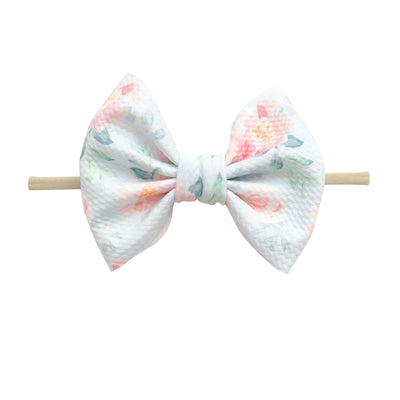 Lulu Bow Nylon Headband Prints 2