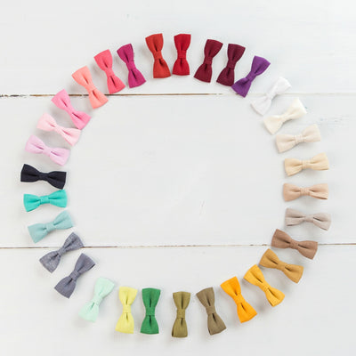 Mini Hair Clippies 31 Colors