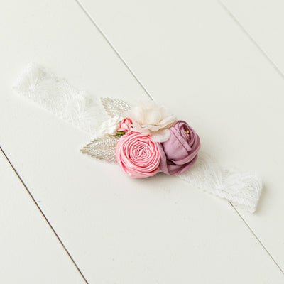 Everly Couture Flower Lace Headband
