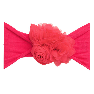 Couture Nylon Headwraps BRIGTH PINK 3