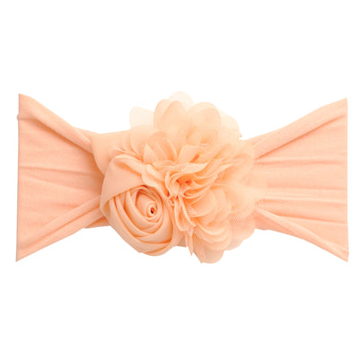 Couture Nylon Headwraps PEACH 17