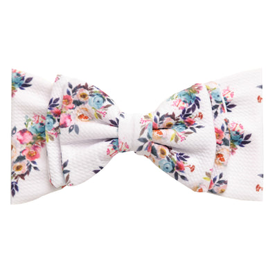 Lolita Big BOW Printed  Headwraps L5