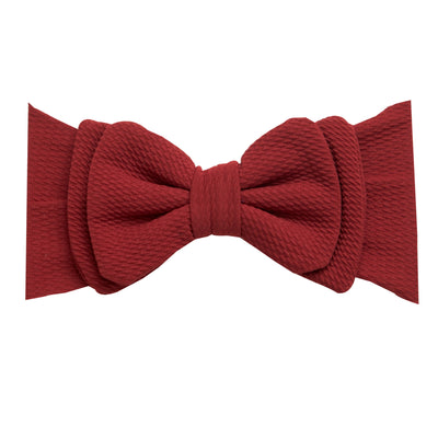 Lolita Big BOW  Headwraps  MULBERRY 35