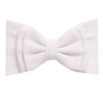 Lolita Big BOW  Headwraps WHITE 20