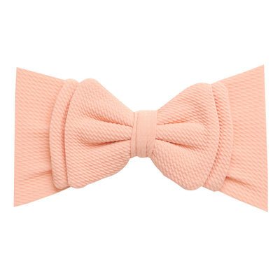 Lolita Big BOW  Headwraps PEACH 6