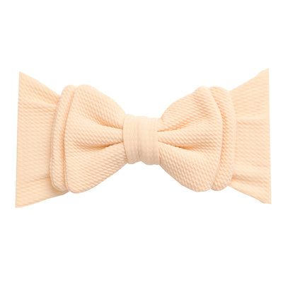 Lolita Big BOW  Headwraps IVORY 8