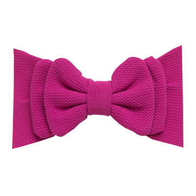 Lolita Big BOW  Headwraps - MAGENTA 59