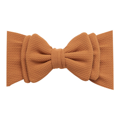 Lolita Big BOW  Headwraps CHOCOLATE 34