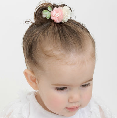 Lizzie Bow Hair Clip Style 3