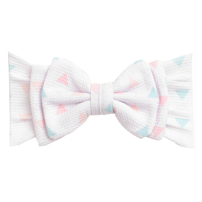 Lolita Big BOW Printed  Headwraps L7