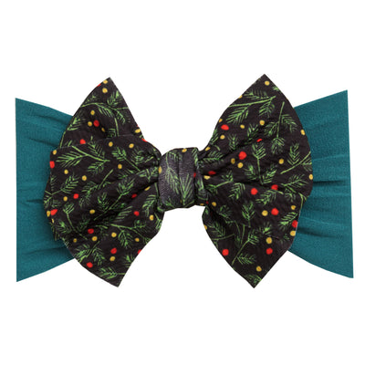 Lola Nylon PRINTS Headwraps Mistletoe