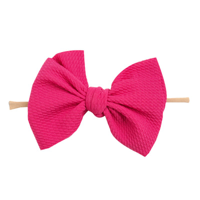 Kira Nylon Headbands HOT PINK 10
