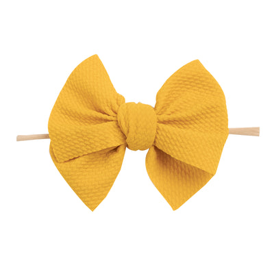 Kira Nylon Headbands MUSTARD 12