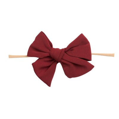 Nella Hair Bow Headband 4.5