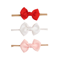 SET of 3 Nylon Headbands Valentine #2