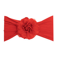 Belle Nylon FLOWER Headwraps RED 24