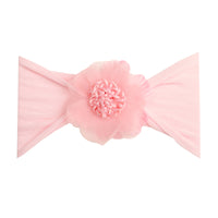 Belle Nylon FLOWER Headwraps PINK 4