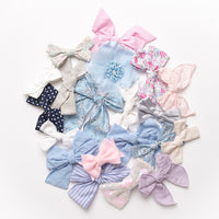 10 or 20 Hair Bows & Clips GRAB a BAG