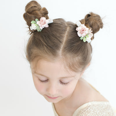 Lizzie Bow Hair Clip Style 7