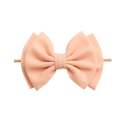 Zara Headbands Peach 4