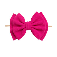 Zara Headbands Fuschia 1