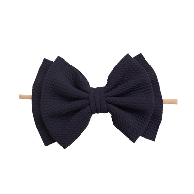 Zara Headbands Navy 9