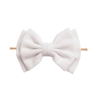 Zara Headbands White 14