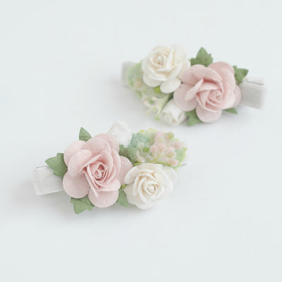 Lizzie Bow Hair Clip Style 8