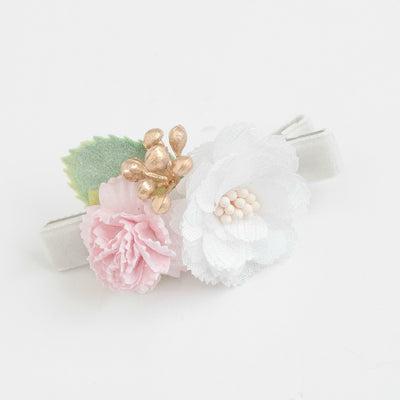 Lizzie Bow Hair Clip Style 4