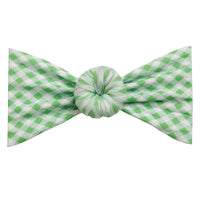 Turban Nylon Checkered Headwrap GREEN