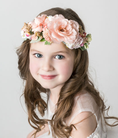 Tasha Flower Girl Crown