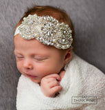 Super Star Bling Headband - Think Pink Bows - 2