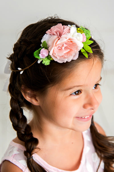 Kimberly Flower Girl Crown