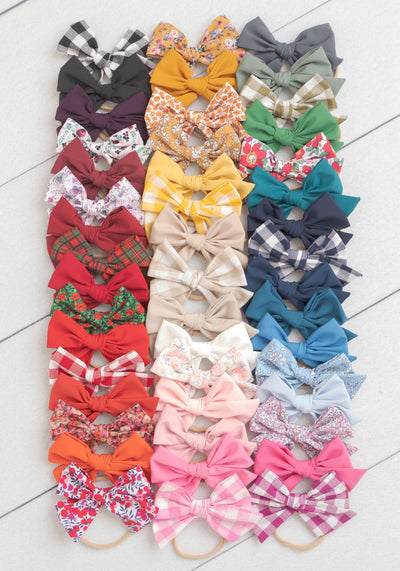 Rylie Bow Headband Large - 47 Styles